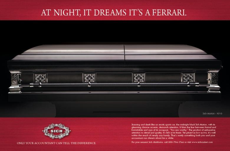 Ferrari Ad Spread